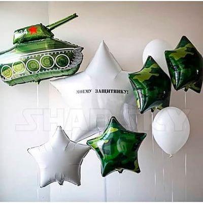 Букет с танком