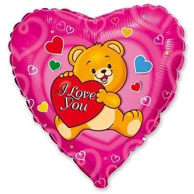 "Сердце ""I Love You"" медвежонок, 46 см"