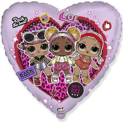 """Сердце """"Куклы LOL Лол"""", 46 см"""