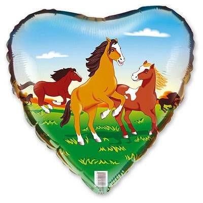 """Сердце """"Лошадки"""", 46 см"""