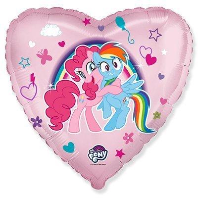 """Сердце """"Маленькие пони"""" объятия, 46 см"""