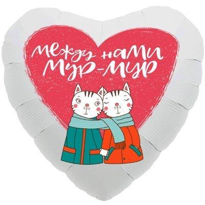 "Сердце ""Между нами мур-мур"", 46 см"
