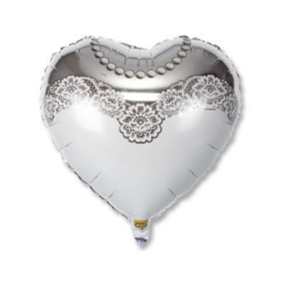 "Сердце ""Невеста"", 46 см"