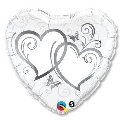 """Сердце """"Переплетенные сердца"""", 46 см"""