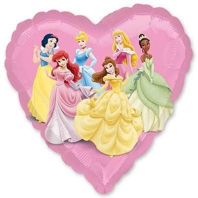 """Сердце """"Принцессы"""", 46 см"""