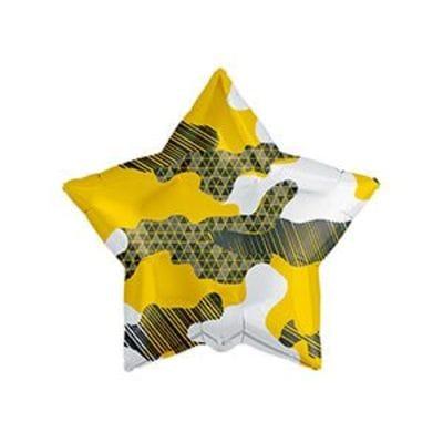 """Звезда """"Камуфляж"""" желтый, 46 см"""