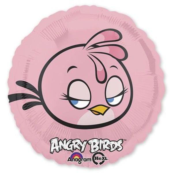 Воздушные шары. Доставка в Москве: Angry Birds Розовая птица, 46 см Цены на https://sharsky.msk.ru/