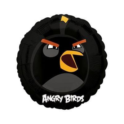 """Круг """"Angry Birds"""" Черная птица, 46 см"""