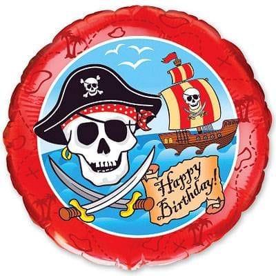 """Круг """"Пиратский День Рождения"""", 46 см"""