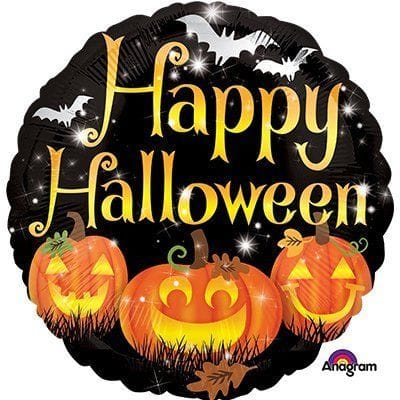 "Круг ""Хеллоуин"" тыквы, 46 см"