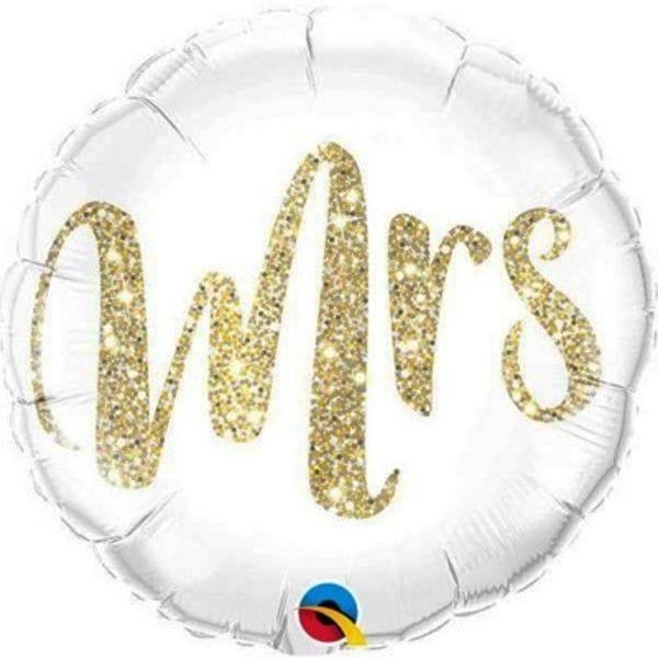 Воздушные шары. Доставка в Москве: Круг Миссис, 46 см Цены на https://sharsky.msk.ru/