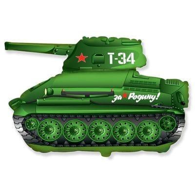 """Шар """"Танк Т-34"""", 79 см"""