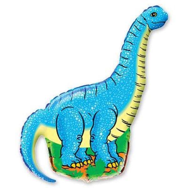 """Воздушные шары. Доставка в Москве: Фигура """"Динозавр"""", 101 см Цены на https://sharsky.msk.ru/"""
