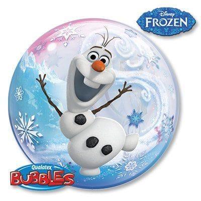 "Большой шар ""Холодное сердце - снеговик Олаф"", 56 см"