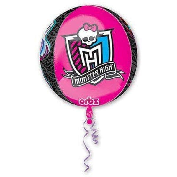 "Воздушные шары. Доставка в Москве: Шар ""Школа Монстер Хай (Monster High)"", 41 см Цены на https://sharsky.msk.ru/"