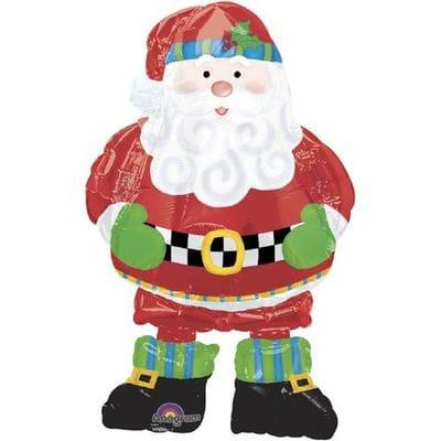 "Ходячая фигура ""Дед Мороз"", 94 см"