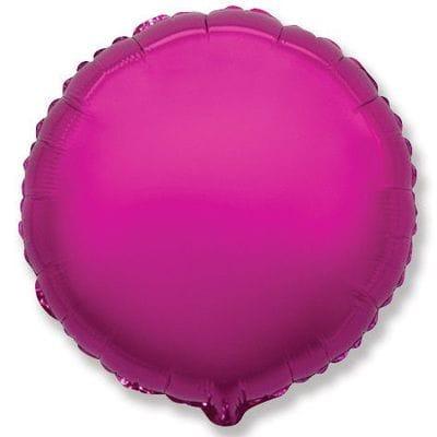 """Шар-Круг """"Пурпурный"""", 46 см"""