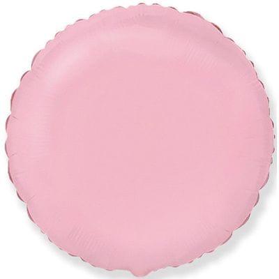 "Шар-Круг ""Розовый"", 46 см"