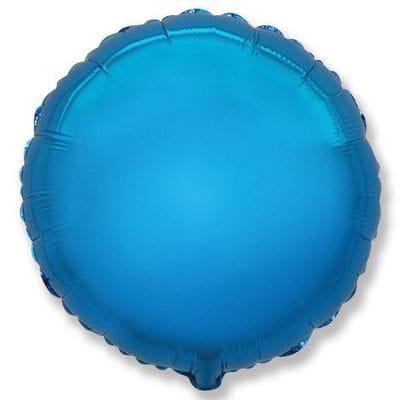 """Шар-Круг """"Синий"""", 46 см"""