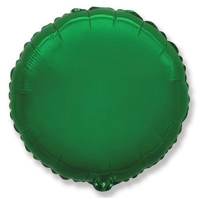 """Шар-Круг """"Зеленый"""", 46 см"""