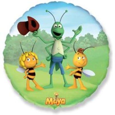 """Шар-Круг """"Пчела Майя"""", 35 см"""