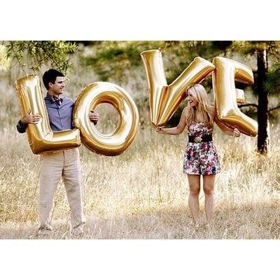 """Большая надпись """"Love"""", 102 см каждая буква"""