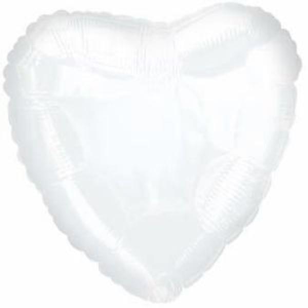 Воздушные шары. Доставка в Москве: Белое сердце Цены на https://sharsky.msk.ru/