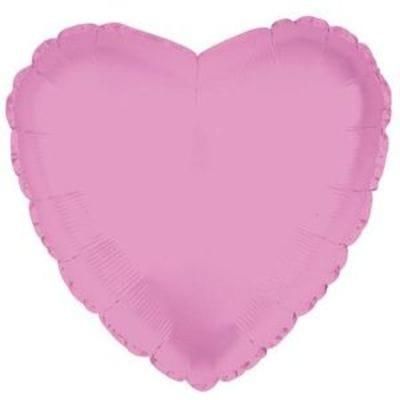 """Шар-Сердце """"Розовое"""", 46 см"""