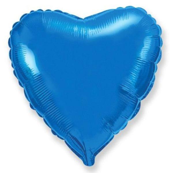 Воздушные шары. Доставка в Москве: Синее сердце Цены на https://sharsky.msk.ru/