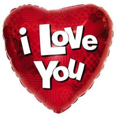 "Cердце ""I LOVE YOU"", 46 см"