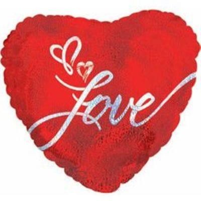 Большое сердце LOVE, 81 см