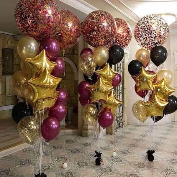 Воздушные шары. Доставка в Москве: Большие фонтаны шаров Цены на https://sharsky.msk.ru/