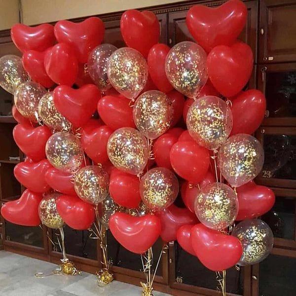 Воздушные шары. Доставка в Москве: Яркий фонтан шаров Цены на https://sharsky.msk.ru/