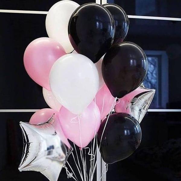 Воздушные шары. Доставка в Москве: Фонтан из воздушных шариков Цены на https://sharsky.msk.ru/