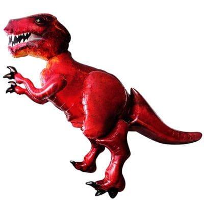 """Ходячая фигура """"Динозавр красный"""", 172 см"""