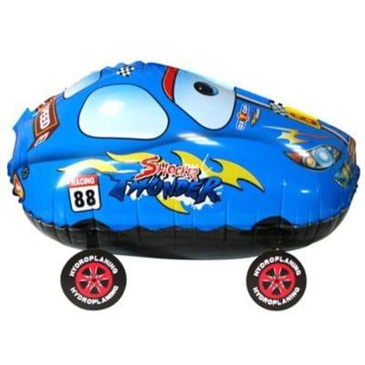 """Ходячая фигура """"Гоночная машина"""" Синяя, 61 см"""
