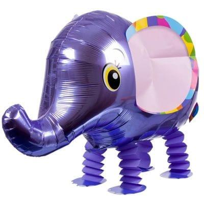 """Ходячая фигура """"Слоник"""" Фиолетовый, 71 см"""