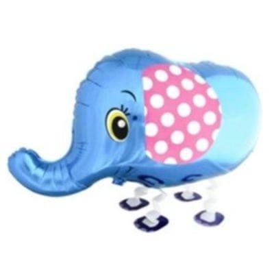 """Ходячая фигура """"Слоник"""" Синий, 64 см"""