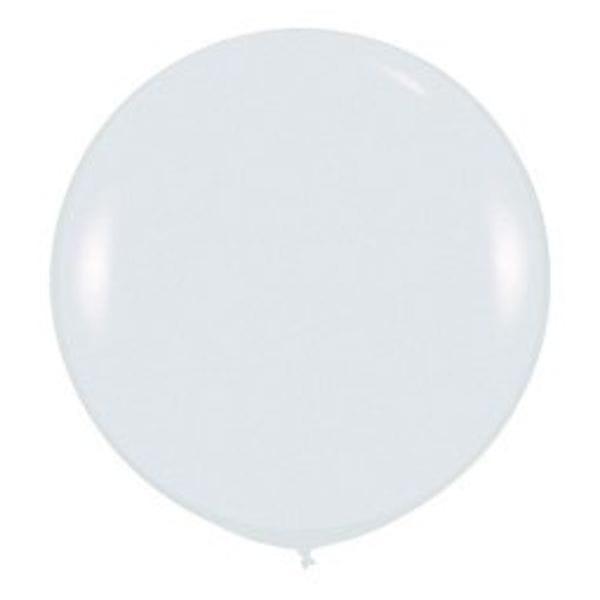 Воздушные шары. Доставка в Москве: Большой Белый шар Цены на https://sharsky.msk.ru/