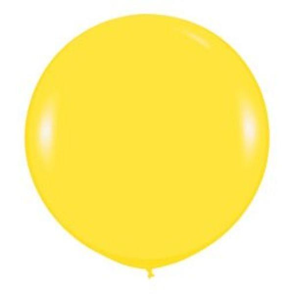 Воздушные шары. Доставка в Москве: Большой Желтый шар Цены на https://sharsky.msk.ru/