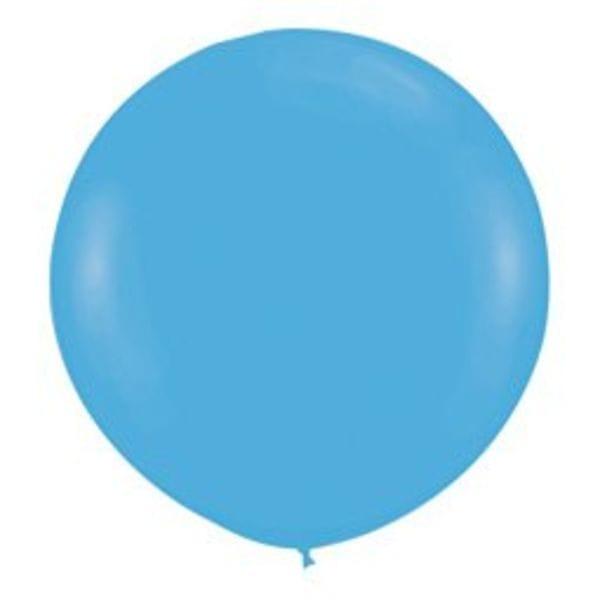 Воздушные шары. Доставка в Москве: Большой Голубой шар Цены на https://sharsky.msk.ru/