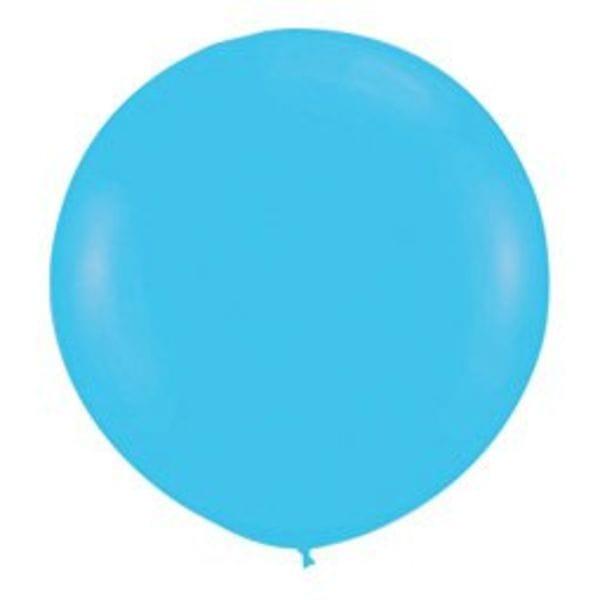 Воздушные шары. Доставка в Москве: Шар синяя бирюза Цены на https://sharsky.msk.ru/