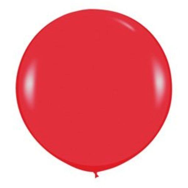 Воздушные шары. Доставка в Москве: Большой Красный шар Цены на https://sharsky.msk.ru/