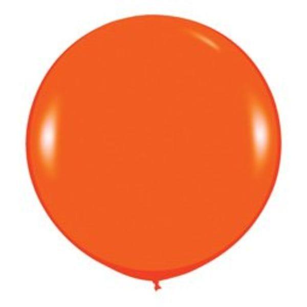 Воздушные шары. Доставка в Москве: Оранжевый шар Цены на https://sharsky.msk.ru/