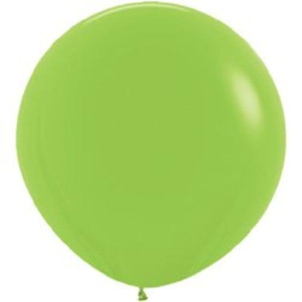 Воздушные шары. Доставка в Москве: Большой Лаймовый шар Цены на https://sharsky.msk.ru/