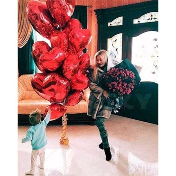 Воздушные шары. Доставка в Москве: Сердечный привет Цены на https://sharsky.msk.ru/
