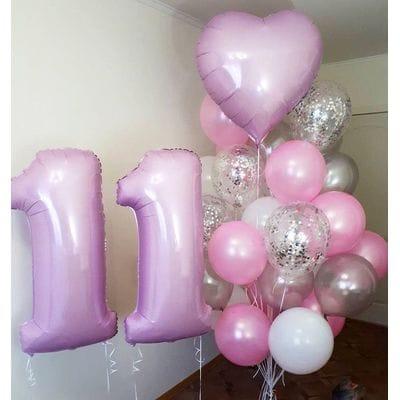 Шарики на День Рождения ребенку 11 лет