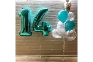 Шары на День Рождения ребенку 14 лет