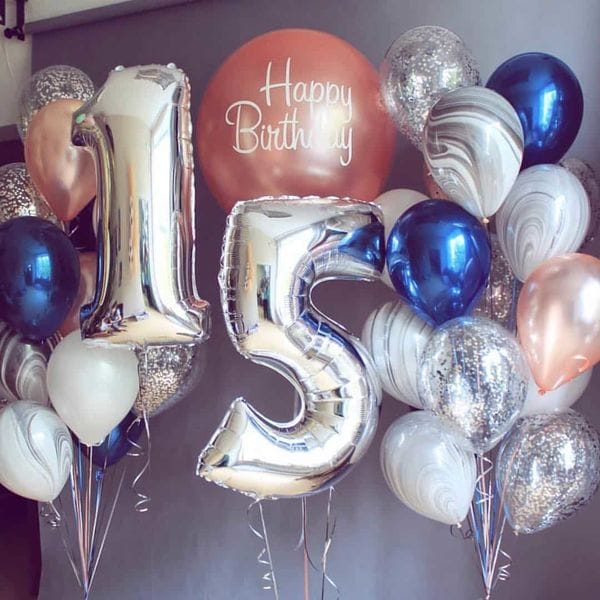 Воздушные шары. Доставка в Москве: Шарики на 15 лет Цены на https://sharsky.msk.ru/