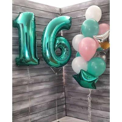 Шары на День Рождения 16 лет